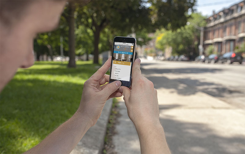 Création application mobile sur Perpignan